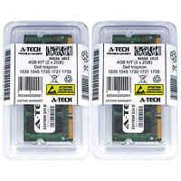 4GB KIT 2 x 2GB Dell Inspiron 1535 1545 1720 1721 1735 640m MXC061 Ram Memory