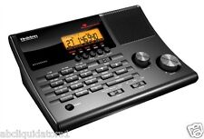 Uniden BC345CRS Narrow Band Police Scanner w/AM-FM Clock Radio
