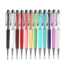 4 pcs/lot Crystal Diamond Pen Ballpoint Pens Office School Stationery Rhinestone