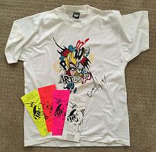 Graffiti Legend JOHN CRASH MATOS - Signed TEE from 1991,never worn. SEEN, COPE2,