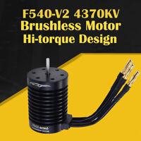 F540-V2 3300KV 4370KV Brushless Sensorless Waterproof Motor For 1/10 RC Car