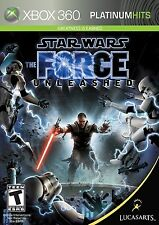 Star Wars: The Force Unleashed [Xbox 360, Platinum Hits, Lightsaber Force] NEW