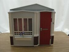 Rare! Vintage Mattel Barbie 2005 Fold out Doll House Washer Dryer Bathroom Nice!