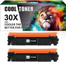 2PK Compatible for HP 30X CF230X Toner LaserJet Pro MFP M203dn M227fdw M227fdn