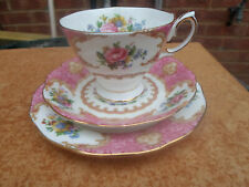Royal Albert Lady Carlyle Trio Cup , Saucer , Plate