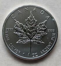 2012 Canadian Silver Maple Leaf $5 Coin 1 ounce .9999 fine