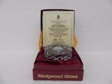 Wedgwood~Full Lead Cut Crystal ~Royal Wedding 1981~Limited Edition of just 200