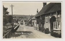 Dorset postcard - Burton Bradstock - RP
