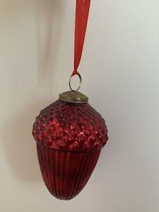 50Pcs Christmas Fake Acorn Baubles Wedding Xmas Tree Decor Ornaments YU