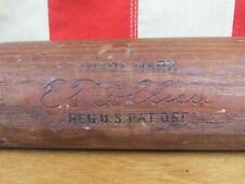 "Vintage 1920s Louisville Slugger Wood Baseball Bat HOF Eddie Collins 34"" 40EC"