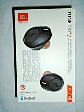 "JBL TUNE 120 Truly Wireless  Comfort Fit - Pure Bass - Black ""NEW"""