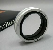 Canon M10 Extension Tube for manual SLR.