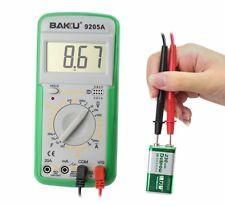 BAKU 9205A Digital Voltmeter Ammeter Ohmmeter Multimeter Volt AC DC Tester Meter