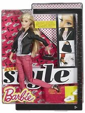 Barbie style doll-barbie en rose denim-CFM76-new