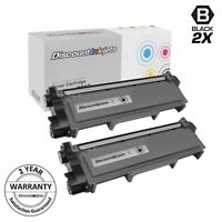 2PK TN660 TN-660 High Yield BLACK Toner for Brother HL-L2300 MFC-L2700 DCP-L2520