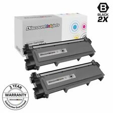 2 Pack Compatible Brother TN660 TN630 High Yield Black Toner Cartridge TN-660