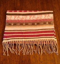 """STYLISH WINTER SCARF Multi-colored PINK to BROWN shades Fashion 70"""" x 11"""" #190"""