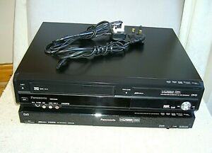 Panasonic DMR-EZ48V DVD to VHS Recorder & DMR-EZ28 DVD Recorder - Faulty