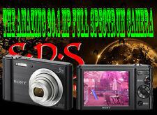 SONY DSC-W800 20.1MP - Full Spectrum-GHOST CACCIA attrezzature