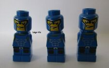 Lego 85863pb018 x3 Microfigure Gladiator Blau Du 3841 Minotaurus