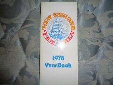 1978 NEW ENGLAND TEA MEN MEDIA GUIDE YEARBOOK FIRST YEAR IN NASL  N.E. Soccer AD