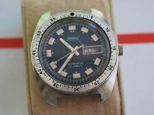Vintage Austin Deluxe 17J Automatic Men's Diver Watch -- For Parts /Repair
