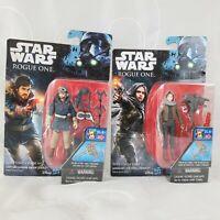 Star Wars Rogue One Captain Cassaian Andor & Sergeant Jyn Erso Action Figure 2PK