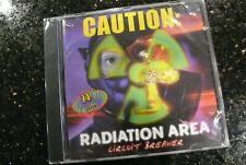 RADIATION AREA Caution  BASS CD  IBP 1999  Old School Car Stereo SUBS ✨SEALED✨