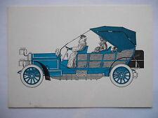 """CPSM """"La voiture de papa - Lorraine Dietrich - 1907"""""""