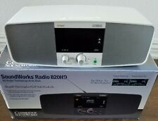 Cambridge Soundworks Radio 820HD AM FM Stations High Quality White Color
