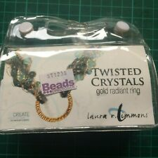 Beads Direct Twisted Crystals bracelet making kit