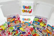 Dairy Free Prefilled Happy Birthday Sweet Box Unisex Party Cones Alternative