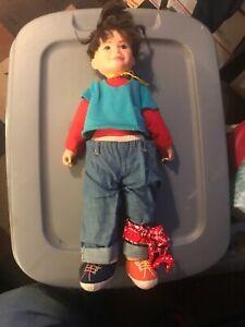 "PUNKY BREWSTER Vintage 1984 Stuffed Doll GALOOB 20"" Plush S3"