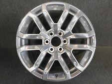 Oem 20� Gmc Chevy Sierra Yukon Denali Polished Factory Wheel Rim 23377019