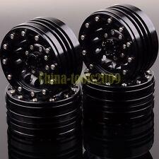 "RC 1.9"" Beadlock Aluminum Wheel Rim 1060HHH For 1/10 Rock Crawler D90 SCX10"