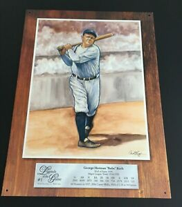 Babe Ruth-legends of the game #1 collector's series tin sign 16 x 12
