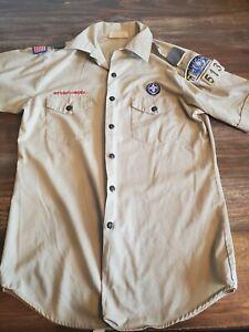 Boy Scouts Men's Uniform MED Oregon Idaho  Ore ida Council Crest Fleir Di Lis