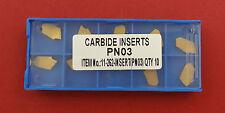 10 Tin-Hartmetallabstechplatten GTN-3 für unsere Halter ET