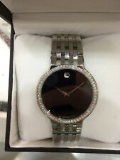 Movado Esperanza Men's Watch with Diamond Bezel