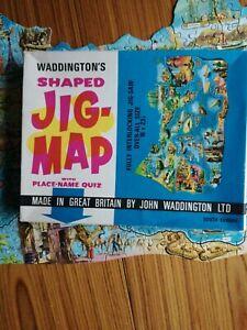 VINTAGE WADDINGTONS JIG MAP SOUTH EUROPE No 567 complete