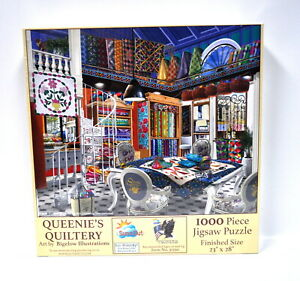 Queenies Quiltery Jigsaw Puzzle 1000 Piece