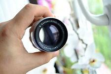 Carl Zeiss Jena Sonnar 135mm F4 lens for Exakta mount silver version