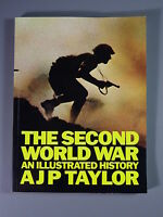 R&L Book: The Second World War Illustrated, AJP Taylor, Penguin Softcover 1976