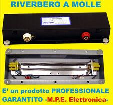 RIVERBERO A DUE MOLLE PER USO PROFESSIONALE M.P.E  ELETTRONICA-BELTON