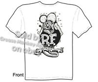 Think Fast Rat Fink T Shirt Hot Rod T Shirts Big Daddy Clothing Bantam Gasser
