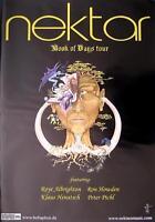 """NEKTAR TOUR POSTER / KONZERTPLAKAT """"BOOK OF DAYS TOUR"""""""