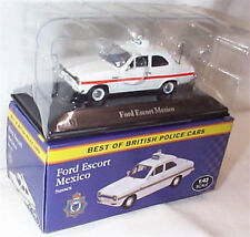 Ford Escort mexico Sussex Police 1-43 Scale New box best of british police cars