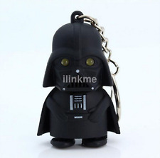 Particular Red Light Up LED Star Wars Darth Vader With Sound Keyring Gift Hot CA