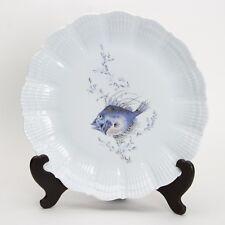 A. Giraud Limoges France, Fischdekor , Platzteller / Teller Nr2