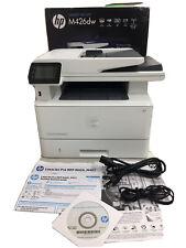 HP LaserJet Pro M426fDW All-In-One Monochrome Laser Printer Scanner Copier #8266